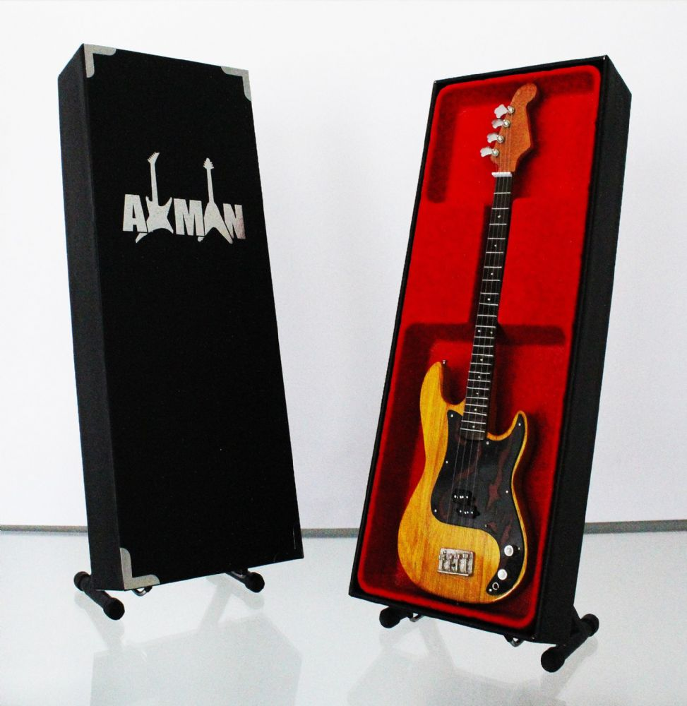 (Queen) John Deacon: Precision Bass - Miniature Guitar Replica (UK Seller)